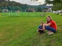 místní hřiště - Vernířovice