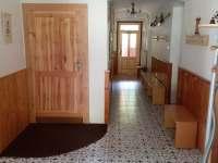vstupní chodba - pronájem chalupy Vernířovice