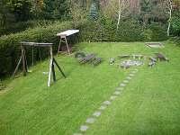 zahrada - pronájem chalupy Vernířovice