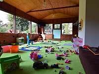 Dětská herna - pronájem chalupy Holčovice - Komora