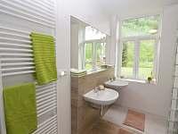 Koupelna v přízemí - Holčovice - Komora
