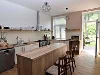 Kuchyně - chalupa ubytování Holčovice - Komora