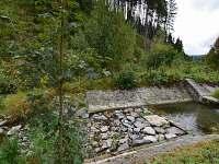 Říčka za zahradou - pronájem chalupy Holčovice - Komora