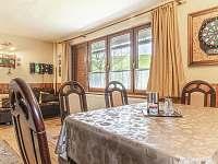 Obývací pokoj - chata k pronajmutí Hynčice pod Sušinou