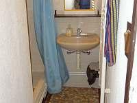 Koupelna podkroví - chata k pronájmu Loučná - Kouty nad Desnou