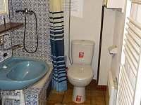 Koupelna,WC přízemí - chata k pronájmu Loučná - Kouty nad Desnou