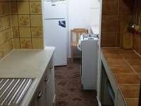 Kuchyňka přízemí - chata k pronájmu Loučná - Kouty nad Desnou