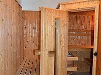 Chata v Karlově - sauna - pronájem