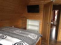 ložnice pro 4 osoby - pronájem chaty Kouty nad Desnou