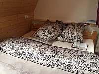 ložnice pro 5 osob - pronájem chaty Kouty nad Desnou