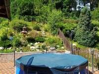 Bazén se zahradou - Vajglov