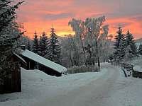 Západ slunce v Jeseníkách - Vajglov