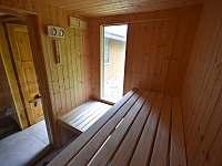 sauna - pronájem chalupy Branná