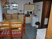 Kuchyň - chata k pronajmutí Karlov pod Pradědem