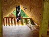 Dětský koutek - chata k pronajmutí Stříbrnice