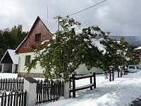 říjen ve Stříbrnicích - chata ubytování Stříbrnice