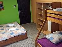 Pokoj č.1.- čtyřlůžkový - rekreační dům k pronajmutí Ostružná