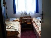 pokoj č.4 -dvoulůžkový pokoj - rekreační dům k pronajmutí Ostružná