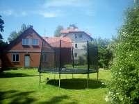 Chata Elča - zahrada - k pronajmutí Lipová-lázně