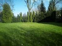 Chata Elča - zahrada - k pronájmu Lipová-lázně