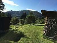 Chalupa Pod lesem - Zahrada - k pronájmu Hanušovice
