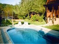 Chata s bazénem - k pronajmutí Vernířovice