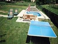 Stolní tenis s bazénem