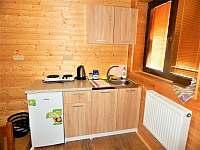 """Apartmán č. 4 """"Rodinný""""- kuchyňka. - chata k pronajmutí Dolní Moravice"""
