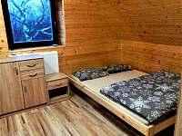 """Apartmán č. 4 """"Rodinný""""- ložnice - pronájem roubenky Dolní Moravice"""