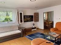 obývací pokoj - apartmán k pronájmu Česká Ves