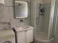 Koupelna přízemí - chalupa ubytování Petrov nad Desnou