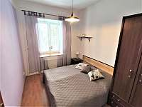 Apartmán - ložnice - ubytování Karlovice