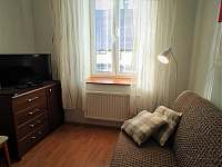 Apartmán - obývací pokoj s kuchyní - ubytování Karlovice