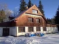 chalupa v zimní sezoně - pronájem chaty Ramzová