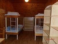 pokoj č.4- 6 lůžek - chata k pronájmu Ramzová