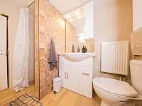 Koupelna s wc - chata k pronajmutí Kouty nad Desnou