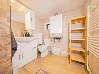 Koupelna s wc - chata ubytování Kouty nad Desnou