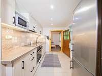 Kuchyň - chata k pronájmu Kouty nad Desnou