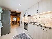Kuchyň - chata ubytování Kouty nad Desnou