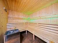 Sauna - pronájem chaty Kouty nad Desnou