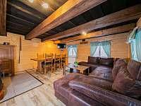 Společenská místnost - chata ubytování Kouty nad Desnou