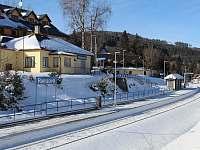 Malebné nádraží na Ramzové - chata k pronajmutí Ostružná - Petříkov