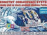 Plán Petříkova - Ostružná - Petříkov
