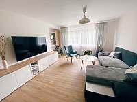 Obývací pokoj - pronájem chalupy Hanušovice