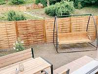 Zahrada a terasa - Hanušovice