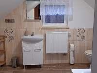 Chalupa u Lešků - koupelna 1. NP - Bělá pod Pradědem