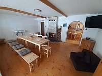 Chalupa u Lešků - společenská místnost - Bělá pod Pradědem