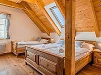 ložnice - chalupa k pronajmutí Roubenka Branná