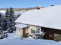 a když napadne sníh ... - chalupa k pronajmutí Javorník - Zálesí