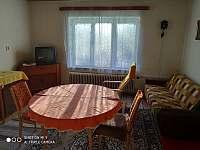 Obývací pokoj - chalupa ubytování Javorník - Zálesí